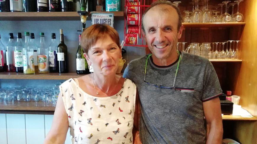 Cathy et Bruno Iribarne