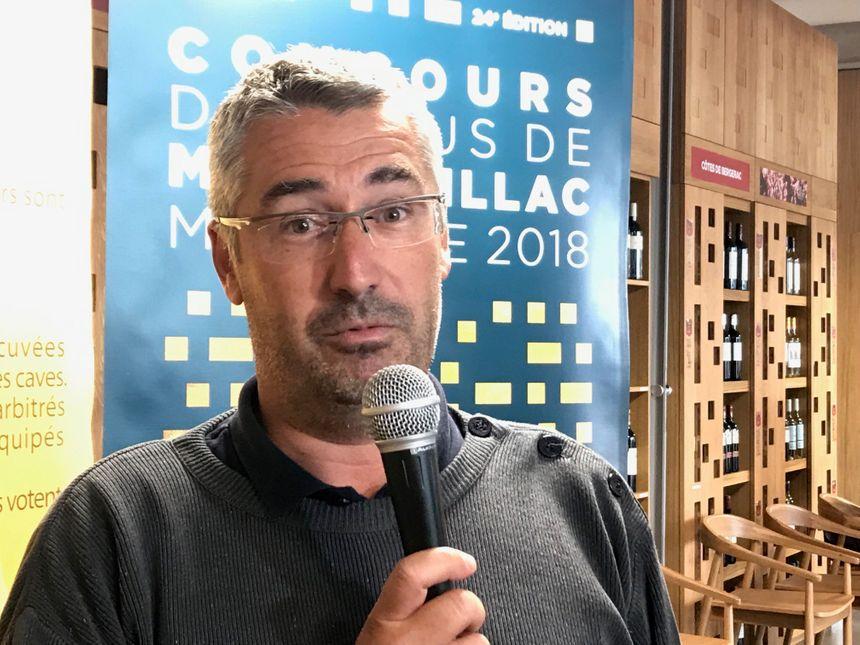 Benoit Gérardin, vigneron du Château le Fagé