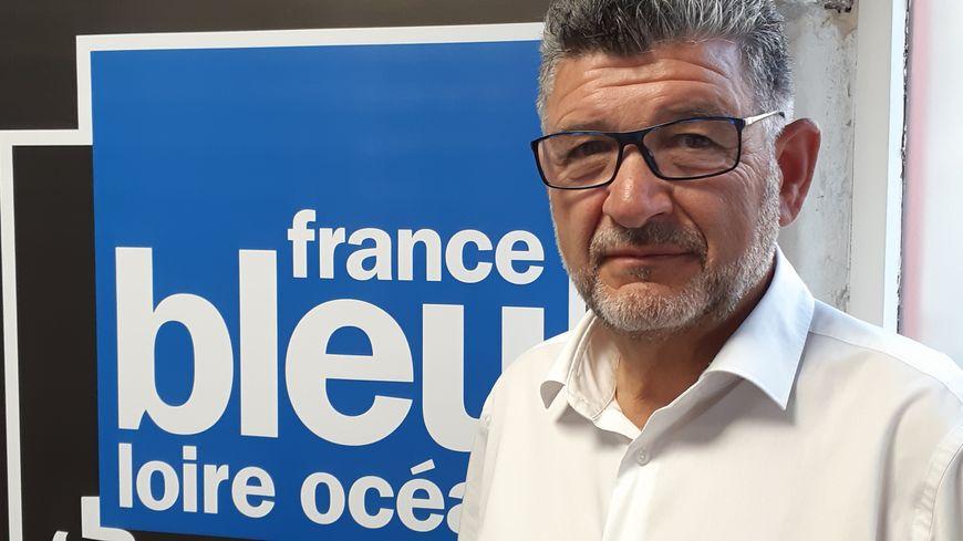 Luc Bouard lundi 16 septembre à La Roche-sur-Yon.