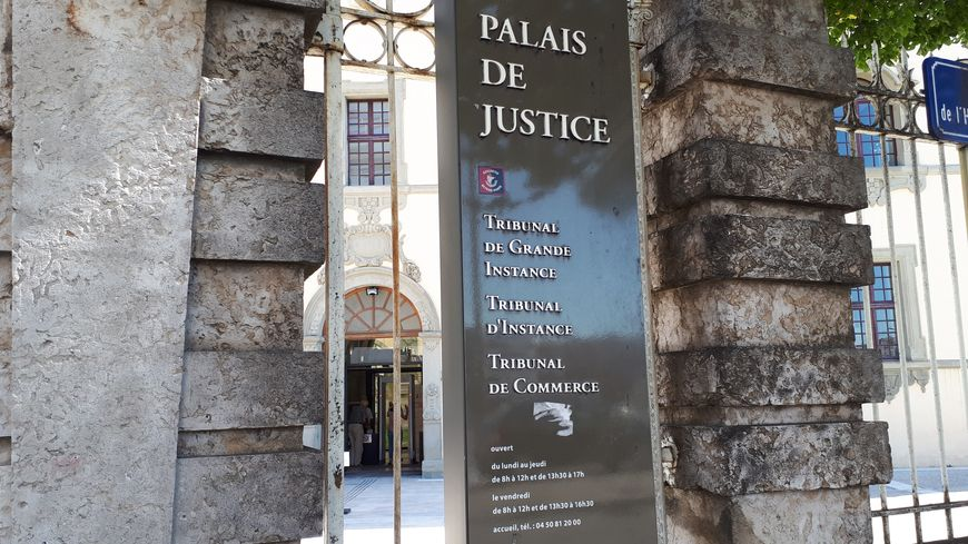 Illustration: palais de justice de Thonon-les-Bains