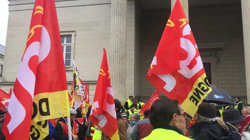 La CGT se rassemblera devant le Palais de justice