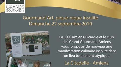 Gourmand d'Art à Amiens avec le Club des Grands Gourmands