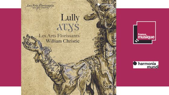 CD sortie - Jean-Baptiste Lully : Atys - le 27 septembre 2019