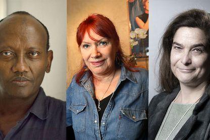 Abdourahman Waberi, Pia Moustaki et Héloïse d'Ormesson