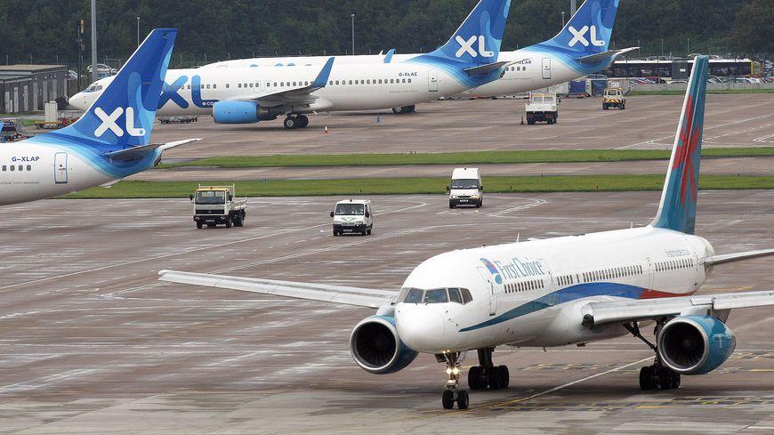 Les avions de la compagnie XL Airways sont cloués au sol.