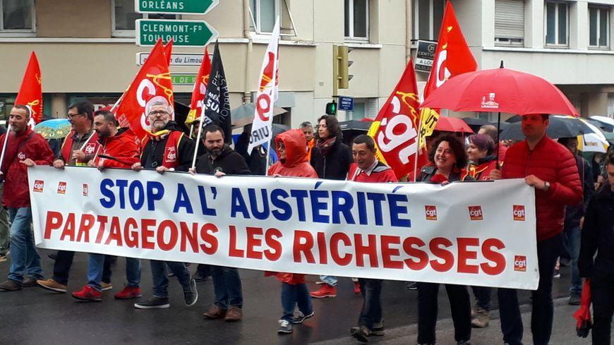 Entre 750 et 1600 personnes ont manifesté ce mardi à Limoges