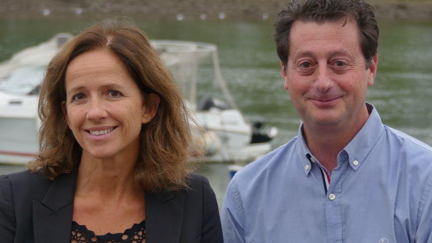Manuel de Lara et Gaëlle Lapix-Ganet candidats à Saint Jean de Luz