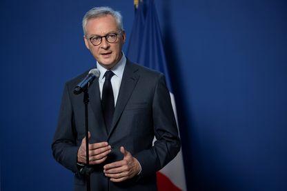 Le ministre de l'Economie et des Finances, Bruno Le Maire, à Paris, le 19 septembre 2019.