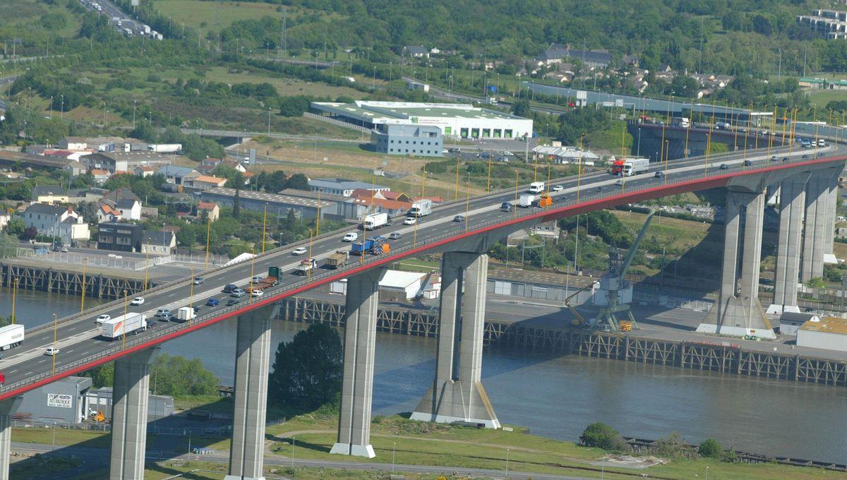 Nantes : pourquoi le pont de Cheviré est fermé ce week end