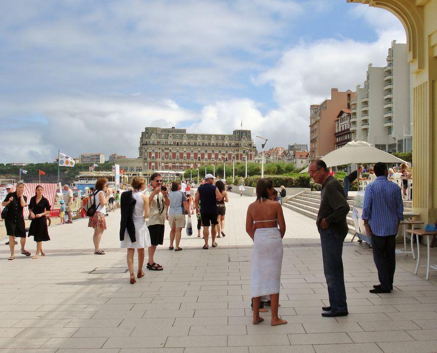 Cet été 2007, le président Chirac avait rencontré de nombreux badauds le long de la Grande Plage