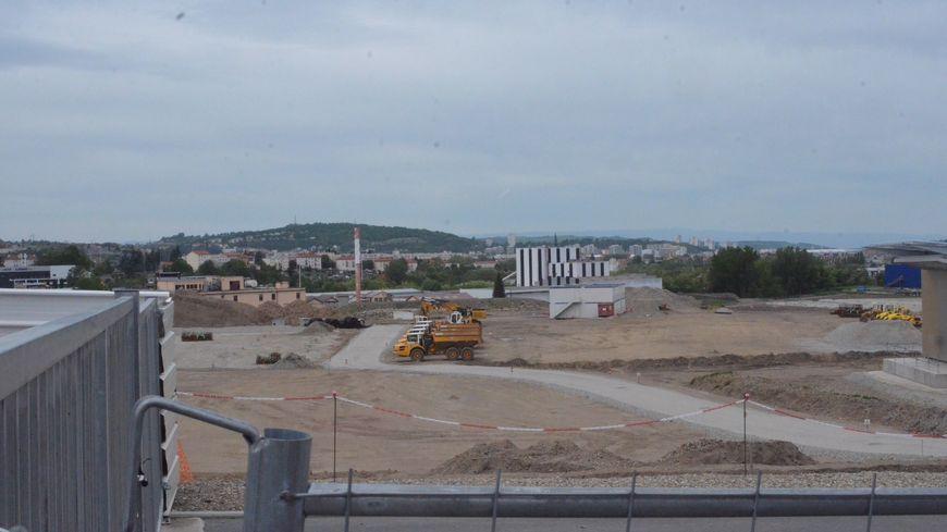 Les terrains du Macrolot ont été dépollués par l'Epase en amont du chantier de Steel à Saint-Etienne (archives)