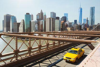 Les 100 mots de New York. Ici le pont de Brooklyn