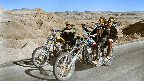 Extrait du film « Easy Rider » (1969) de Dennis Hopper (1936-2010).