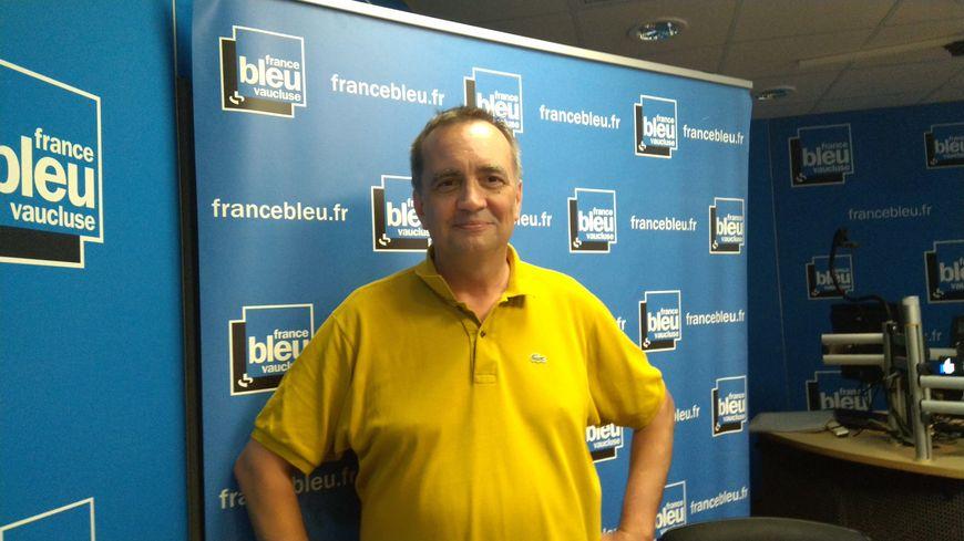 Mathieu Barrois directeur de l'ôkhra dpeuis 25 ans