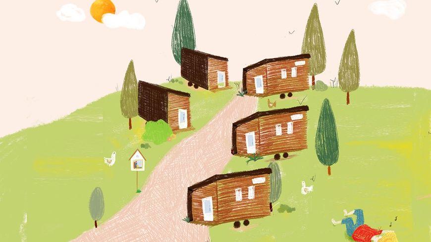 Les tiny houses étudiantes de Saint-Brieuc