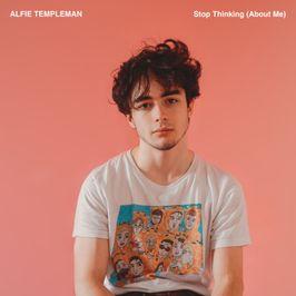 """Pochette de l'album """"Stop thinking (about me)"""" par Alfie Templeman"""