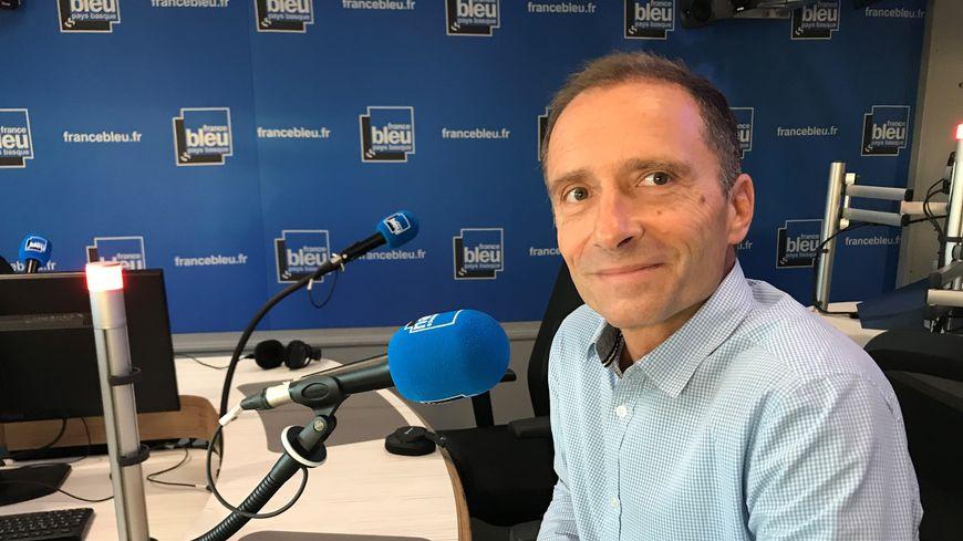 Grégoire Delage, président de l'Anglet Hormadi Pays Basque