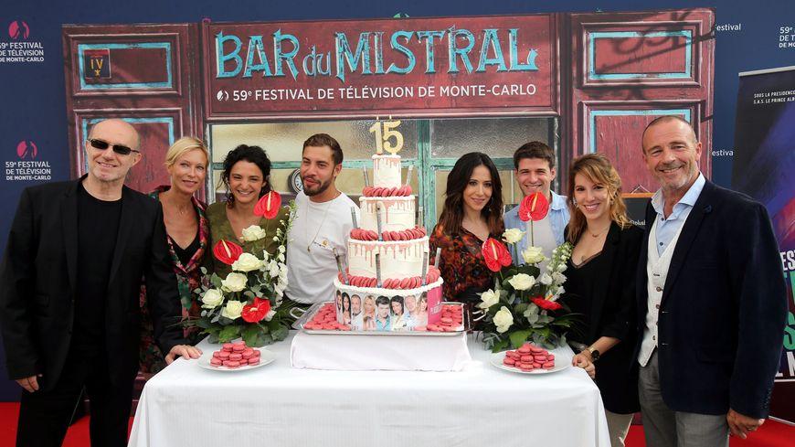"""Les 15 ans de """"Plus belle la vie"""" célébrés au dernier festival de télévision de Monte-Carlo"""