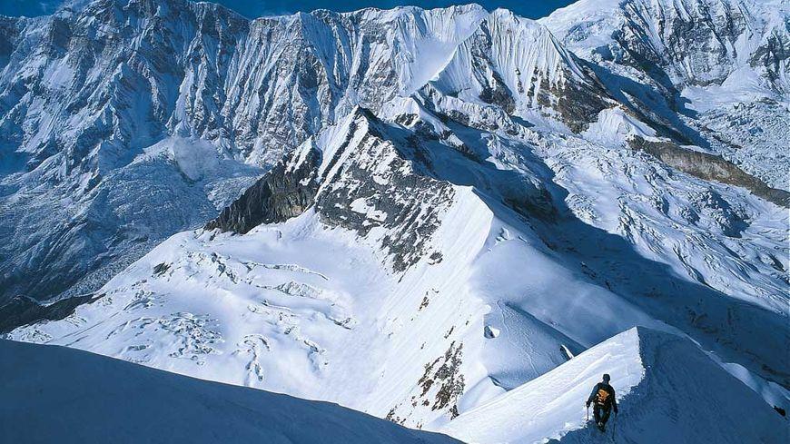 Le Tharpu Chuli, un des sommet de l'Annapurna