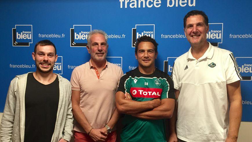 La compo : Valentin Doudeau, Bernard Laporte-Fray, Benson Stanley et Didier Gadou.