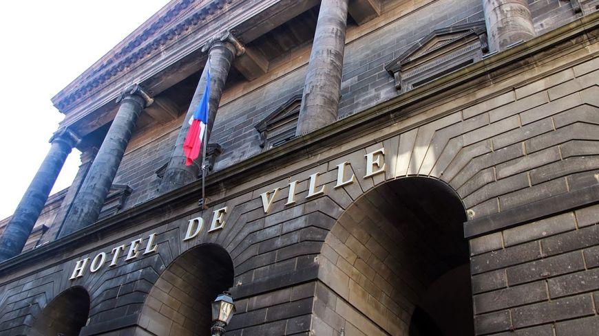 L'hôtel de ville de Clermont-Ferrand
