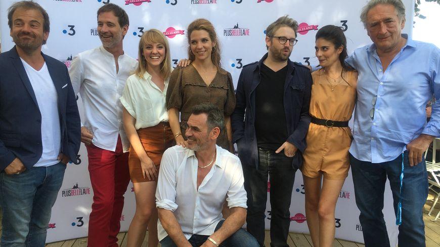 Une dizaine d'acteurs de Plus belle la vie étaient à La Rochelle pour rencontrer leurs fans au Festival de la fiction
