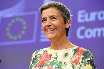 La Danoise Margrethe Vestager reste commissaire à la Concurrence et hérite du portefeuille du Numérique.