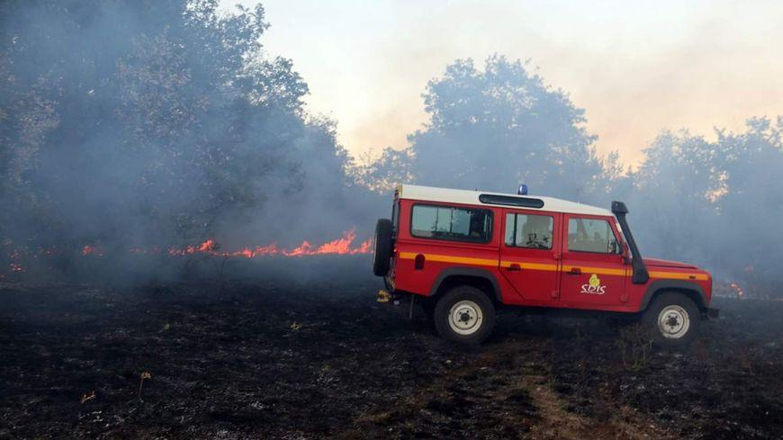 Les pompiers de Côte-d'Or en intervention (photo illustration)