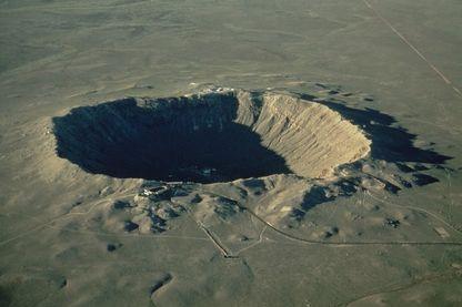 Cratère de météores, le plus grand connu dans le monde, Arizona, États-Unis