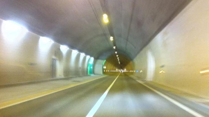 Le tunnel des Grands Goulets.