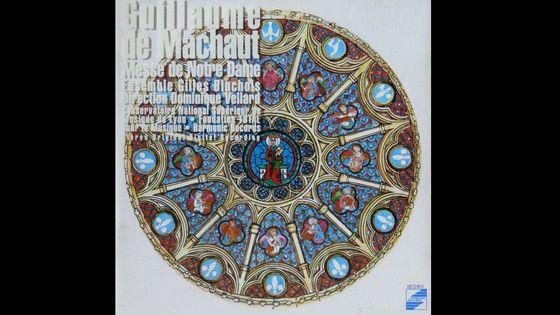 MAchaut, Mese de Notre-Dame, Ensemble Gilles Binchois