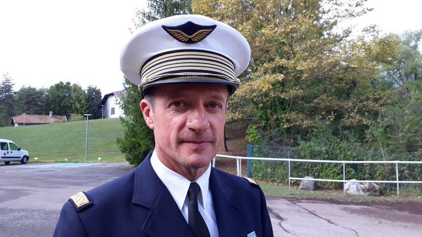 Le Colonel Fontaine, directeur de l'EPA