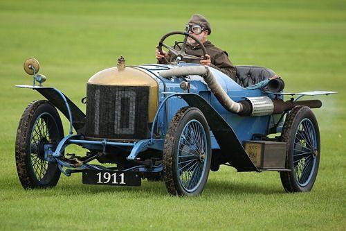 Delage type X coupe de l'auto 1911
