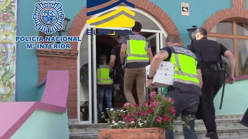 La police espagnole a effectué les perquisitions ce week-end