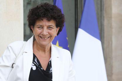 Frédérique Vidal, Ministre de l'Enseignement supérieur, de la Recherche et de l'Innovation, à l'Elysée, le 28 août 2019 à Paris.