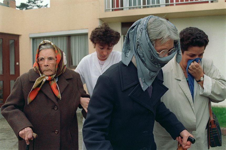 Le 29 octobre 1987, près de 38.000 personnes sont évacuées, notamment les résidents des maisons de retraites