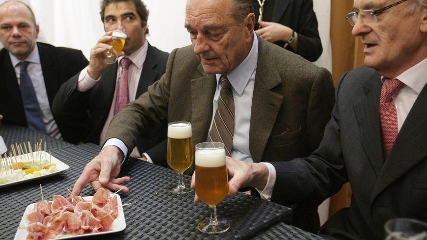 Jacques Chirac, au salon de l'Agriculture en 2009.