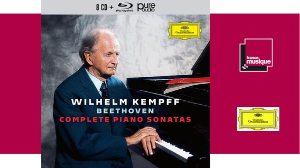 COFFRET CD - Wilhelm Kempff : Beethoven Complete Piano Sonatas