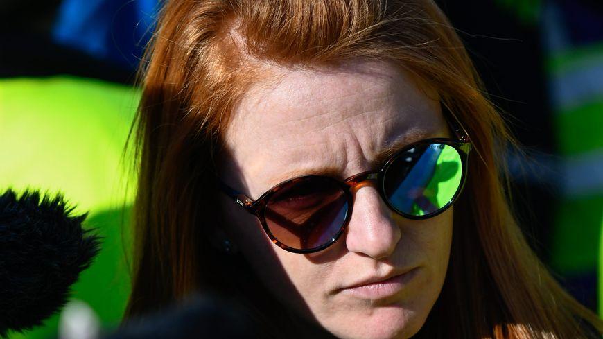 Ingrid Levavasseur, ici lors d'une manifestation à Paris en février 2019, est candidate aux élections municipales à Louviers (Eure).