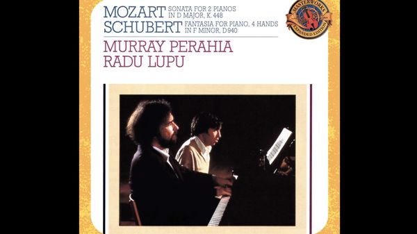 Radu Lupu et Murray Perahia jouent la Fantaisie en fa mineur de Schubert