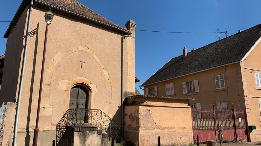 Krautergersheim, la chapelle du château des de Turckheim