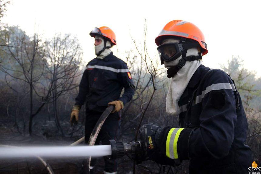 Les pompiers de Côte-d'Or en intervention (photo d'illustration)