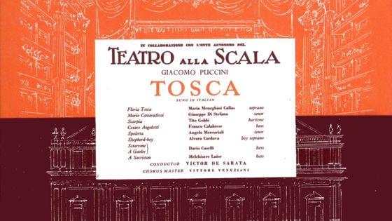 Tosca, Scala, Maria Callas