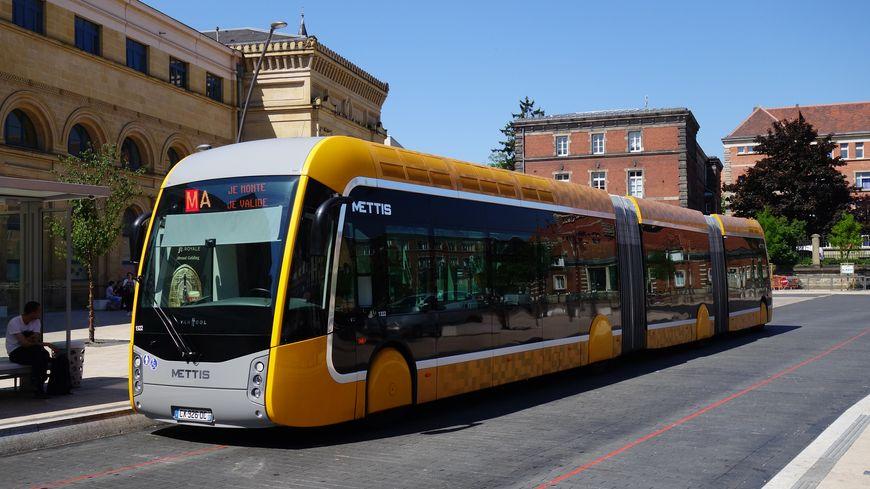 le BHNS de Metz