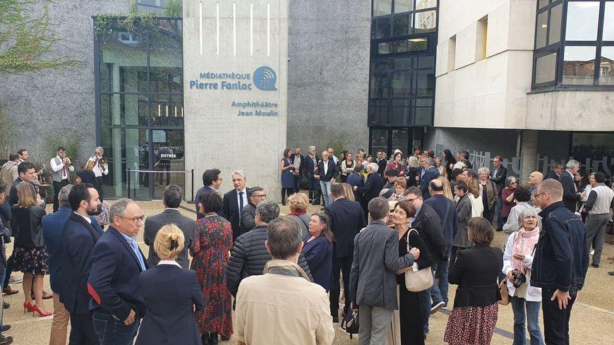 Inauguration de la médiathèque Pierre Fanlac à Périgueux ce samedi 28 septembre