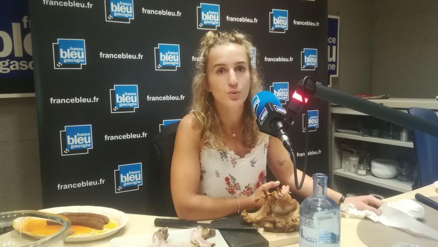 Sarah Sous éleveuse de brebis à Saint-Yaguen. A 23 ans elle est l'égérie de la journée Elevage et Terroir de Mont de Marsan le 14 septembre