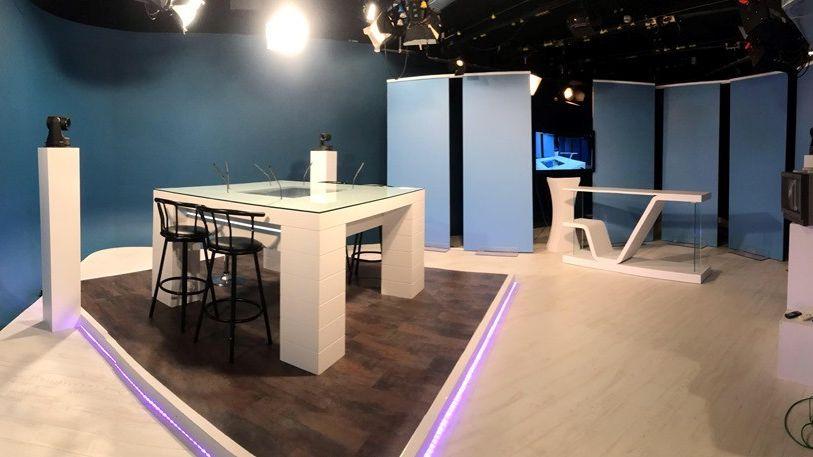 Le studio de Via LMTV Sarthe