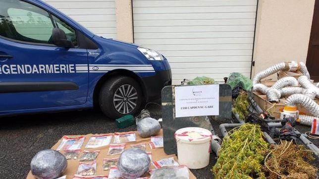 Démantèlement d'un trafic de cannabis et d'hérîne à Capedenac-Gare dans l'Aveyron