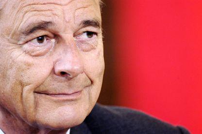 Jacques Chirac en 2002 au sommet franco-italien
