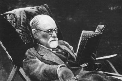 Sigmund Freud lecteur. Date inconnue